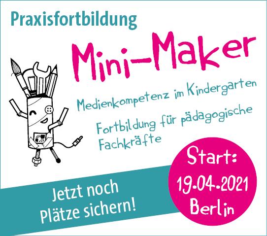 Mini-Maker Fortbildung